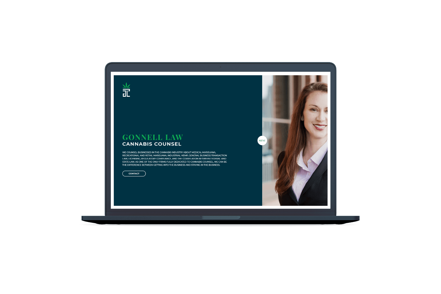 Gonnell Law web design